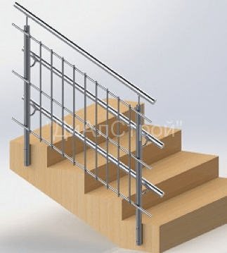 Перила, поручни, ограждения для лестницы