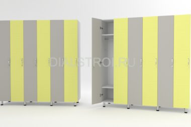 Шкафчики для раздевалок (локеры)