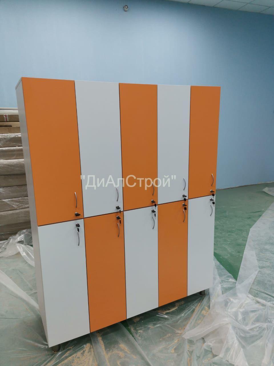 Примеры работ: Шкафчики для раздевалок / локеры